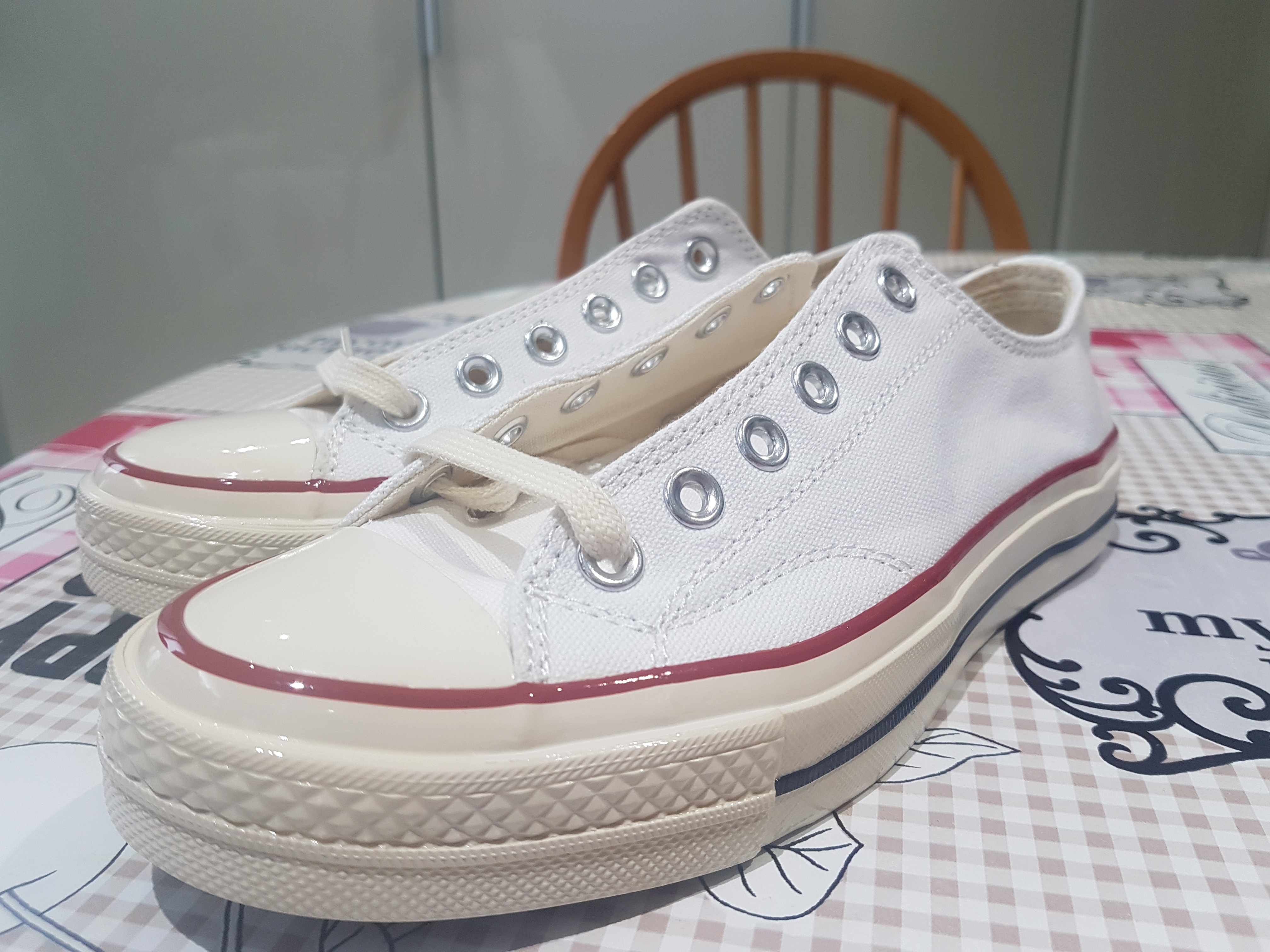 Converses All Star authentiques.