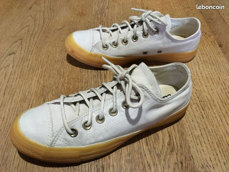 converse femmes toile blanche